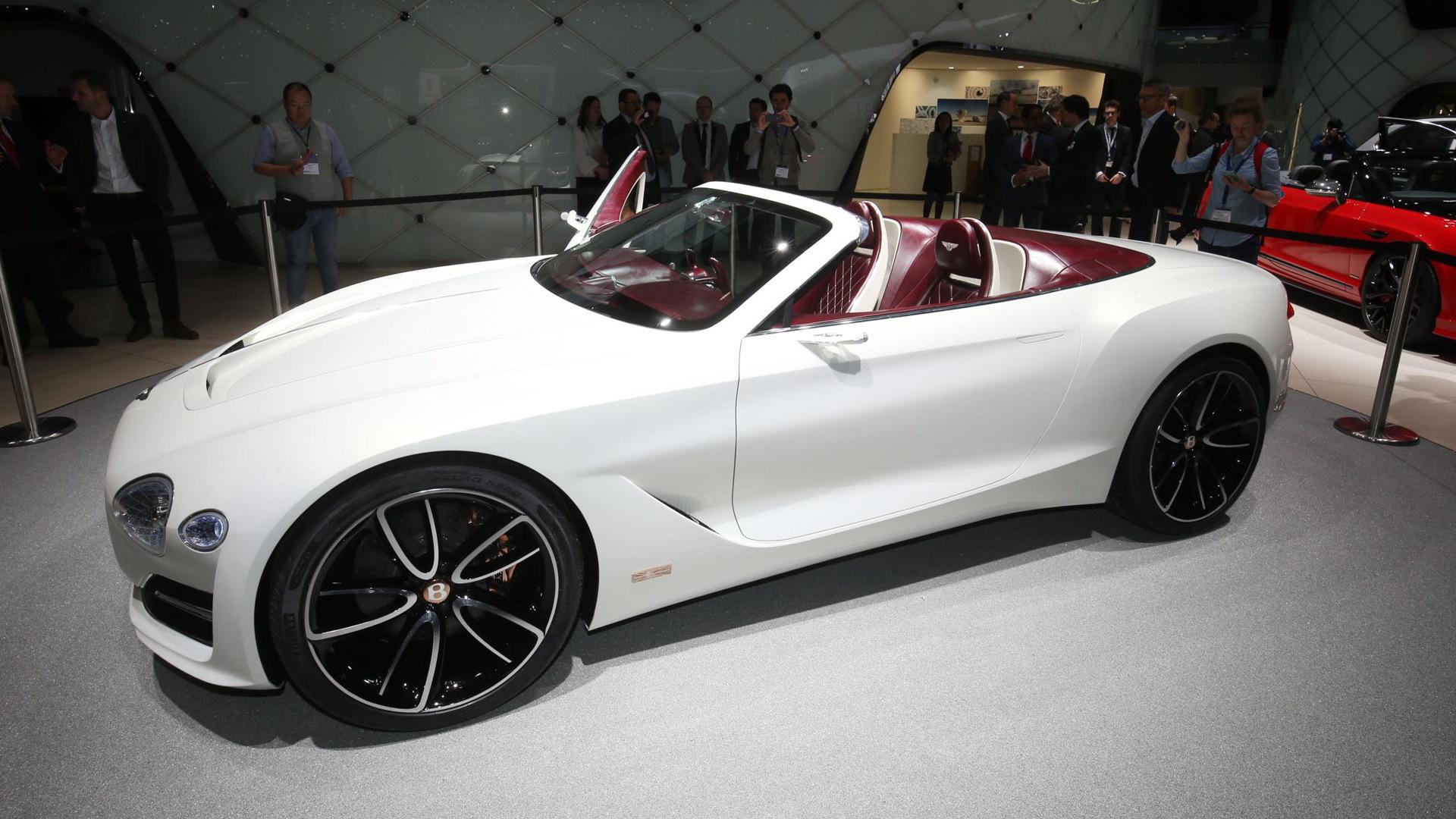 bentley exp 12 speed 6e teases continental gt convertible, ev future