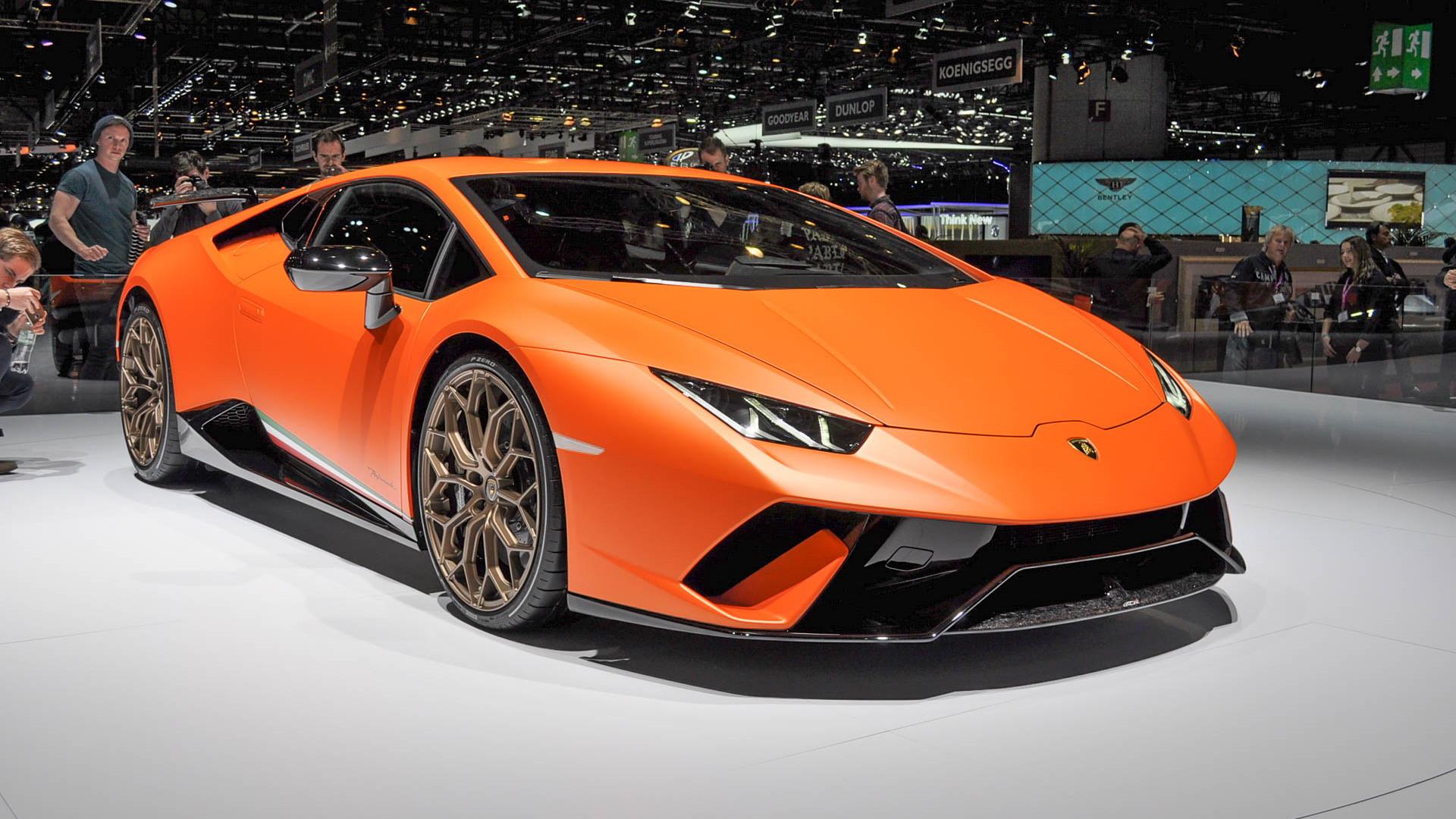 Lamborghini Huracán Performante, 2017 Geneva auto show