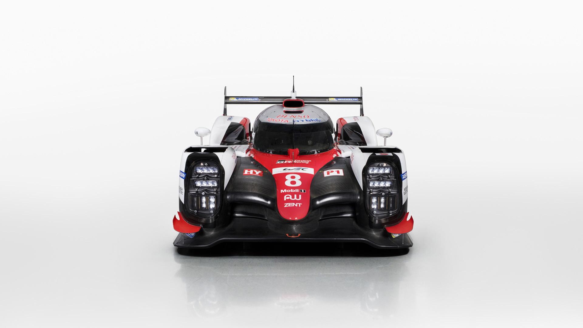 2017 Toyota TS050 Hybrid LMP1 race car