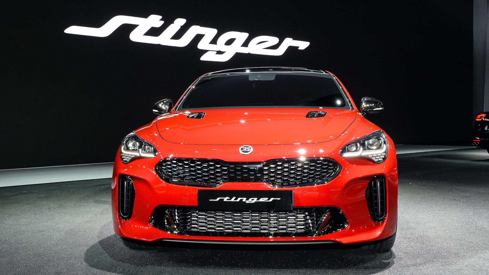 2018 Kia Stinger, 2017 Seoul auto show