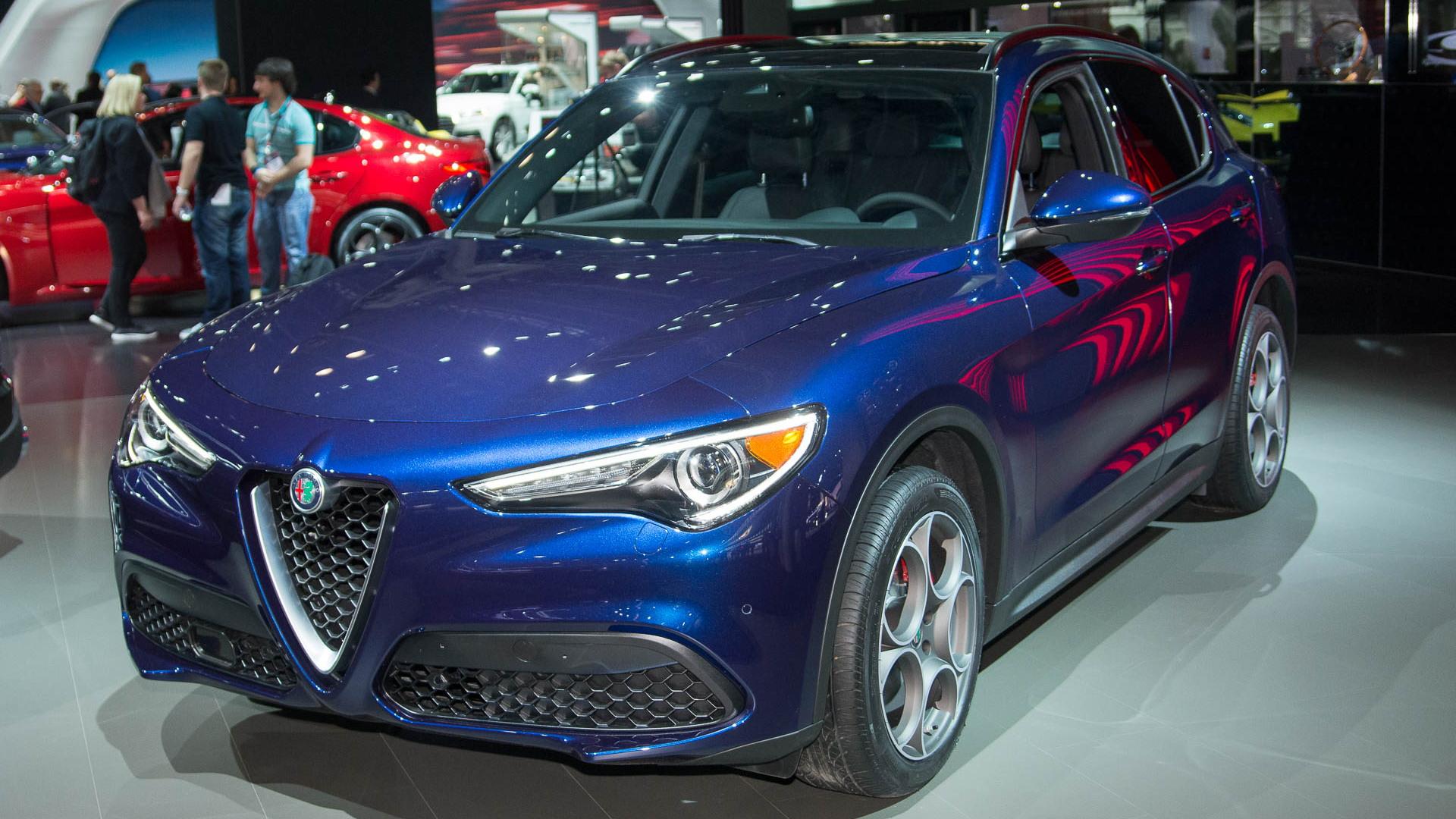 2018 Alfa Romeo Stelvio, 2017 New York auto show