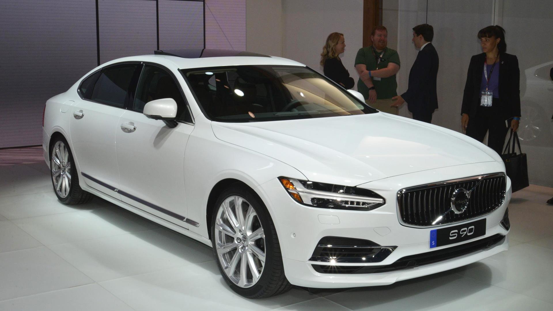 2018 Volvo S90, 2017 New York auto show