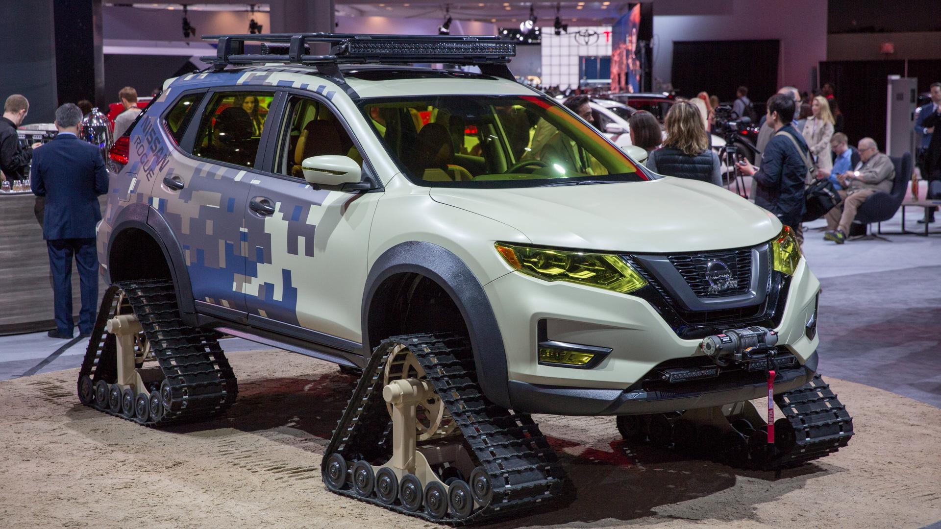 Nissan Rogue Warrior Concept