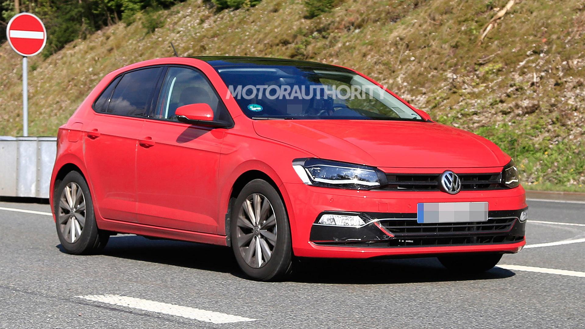2018 Volkswagen Polo spy shots - Image via S. Baldauf/SB-Medien