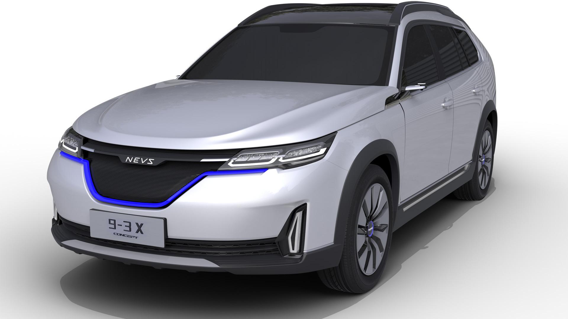 NEVS 9-3X concept, 2017 CES Asia