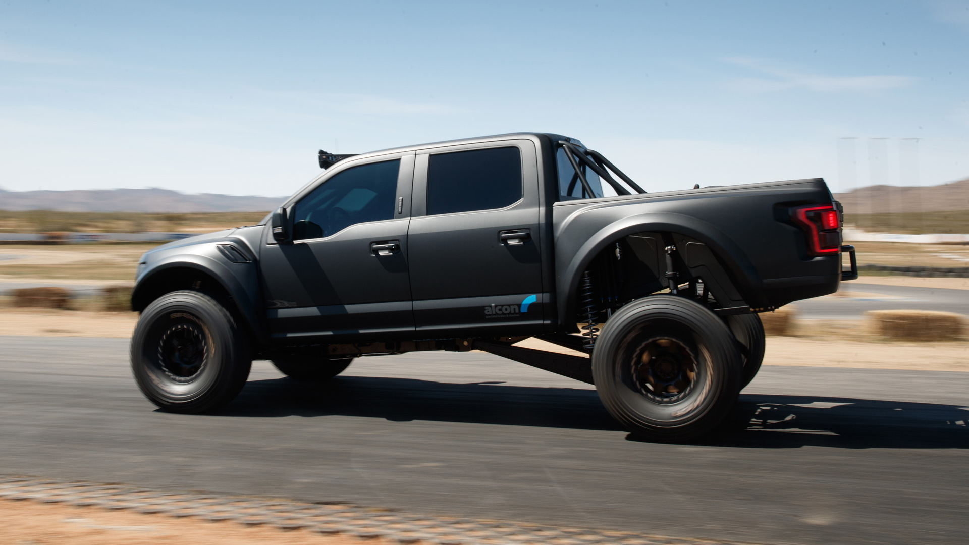Alcon has a powerful brake upgrade for the Ford F-150 Raptor