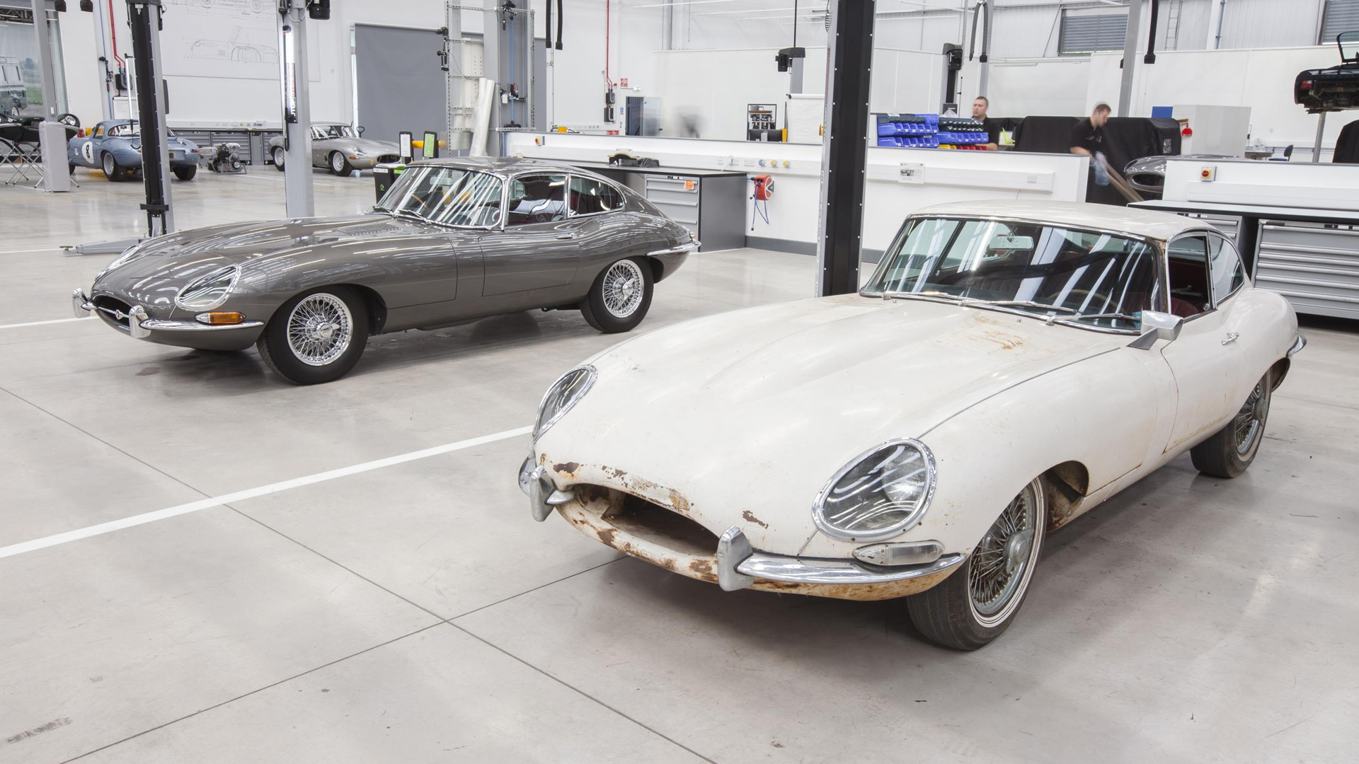 Jaguar Land Rover Classic Works in Coventry, United Kingdom