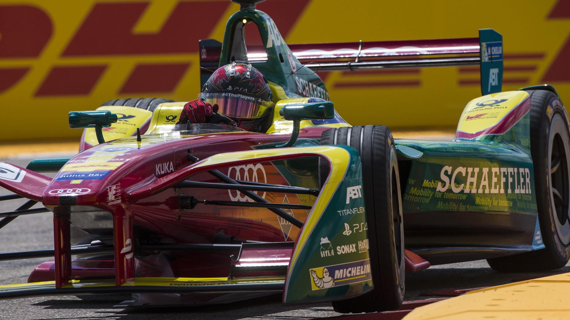 2016/2017 Team ABT Schaeffler Audi Sport Formula E race car