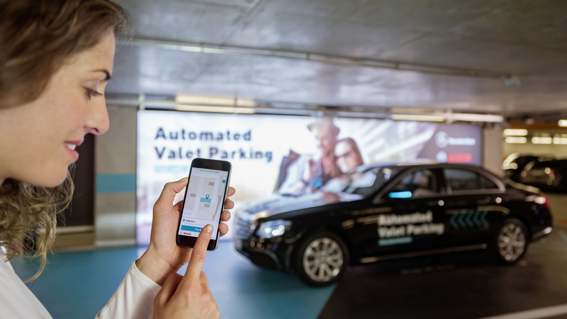 Mercedes-Benz and Bosch Automated Valet Parking