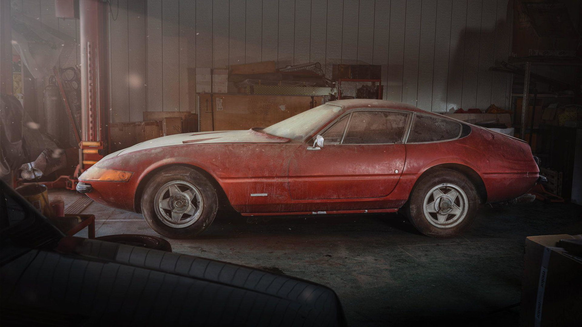 One-off 1969 Ferrari Daytona Alloy