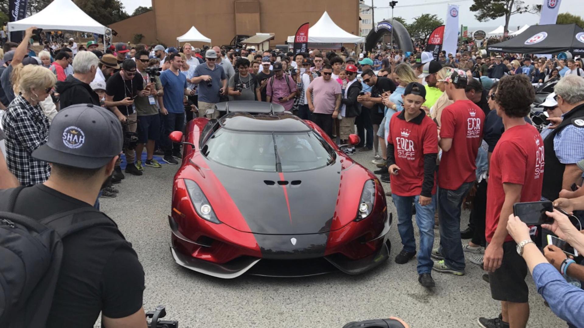 Koenigsegg Regera at 2017 Monterey Car Week