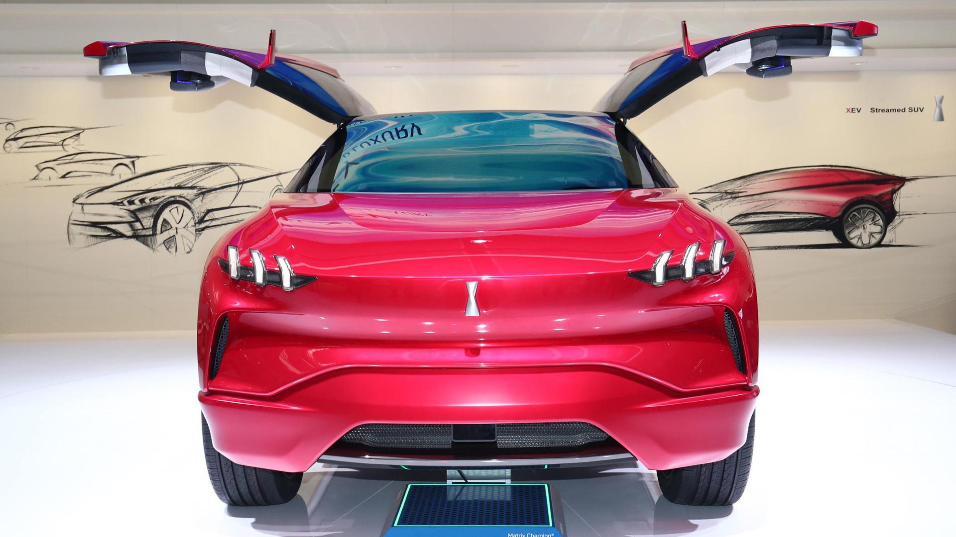 Wey XEV concept, 2017 Frankfurt Motor Show