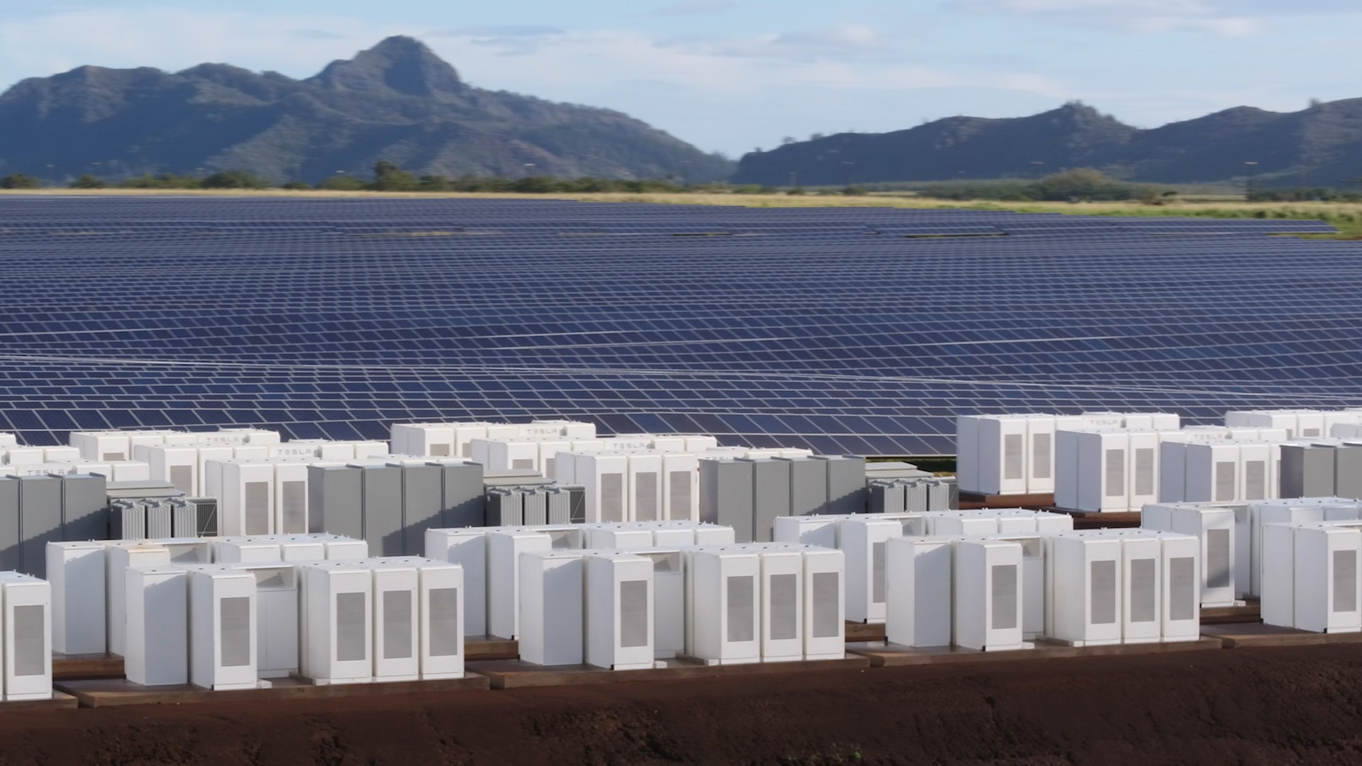 Tesla Kauai solar-energy generation and storage project  [photo: Tesla]