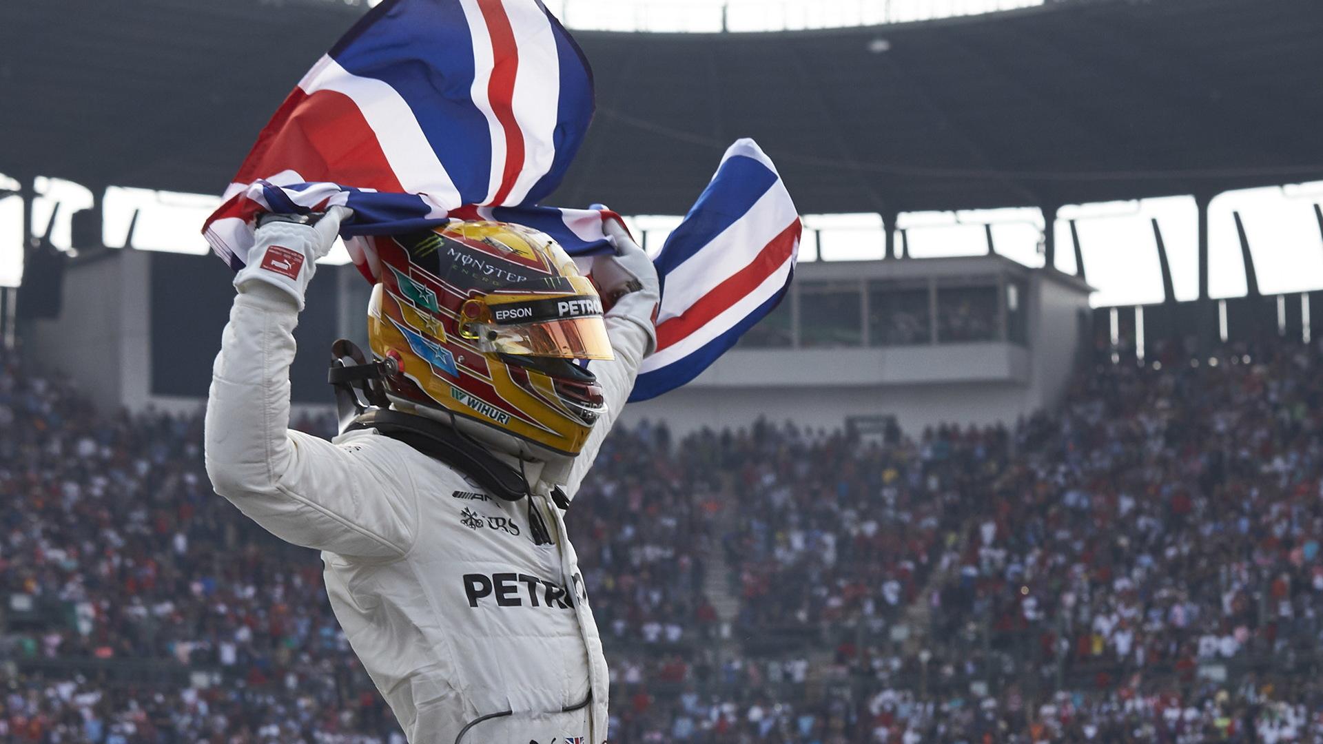 Mercedes-AMG's Lewis Hamilton at the 2017 Formula 1 Mexican Grand Prix