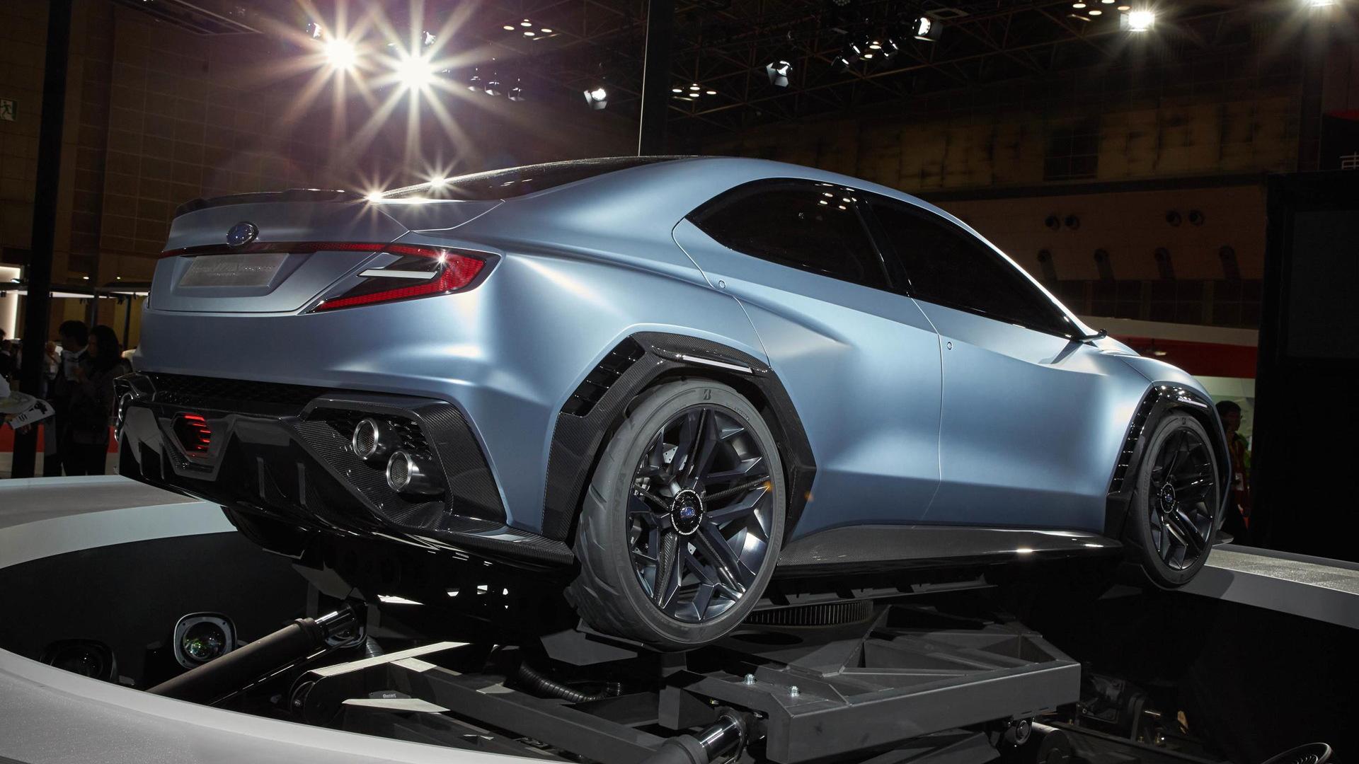 Subaru Hints At Next Gen Wrx With Viziv Performance Concept