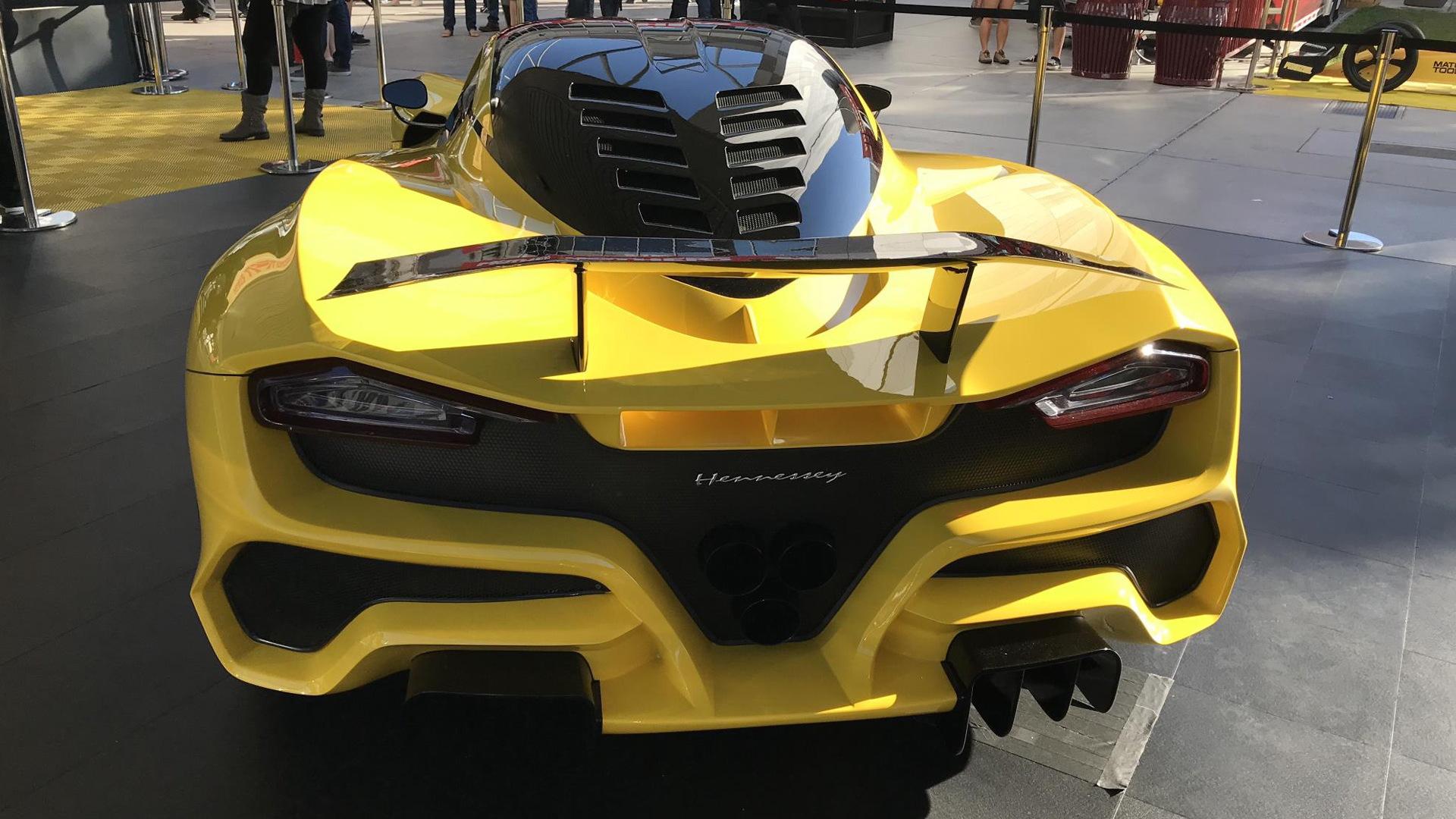 Hennessey Venom F5, 2017 SEMA show