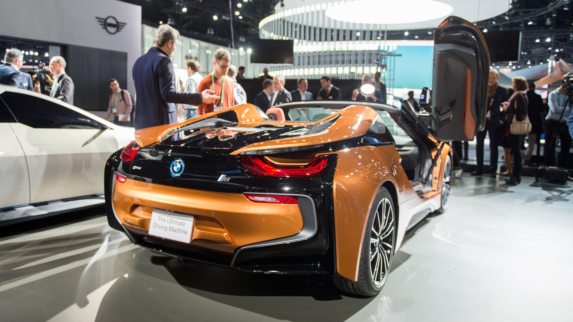 2019 BMW i8 Roadster, 2017 Los Angeles Auto Show