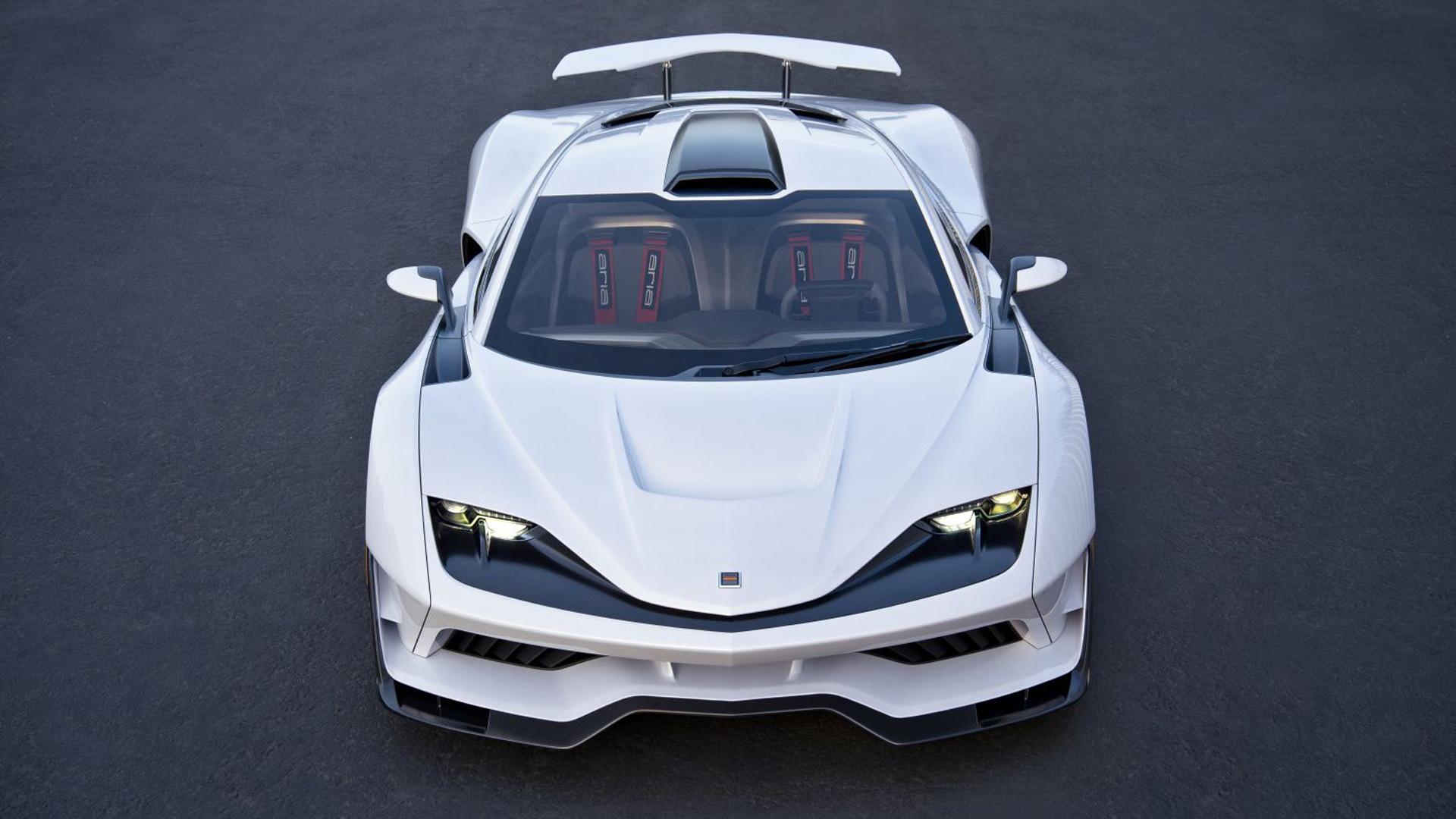 Aria FXE concept, 2017 Los Angeles Auto Show