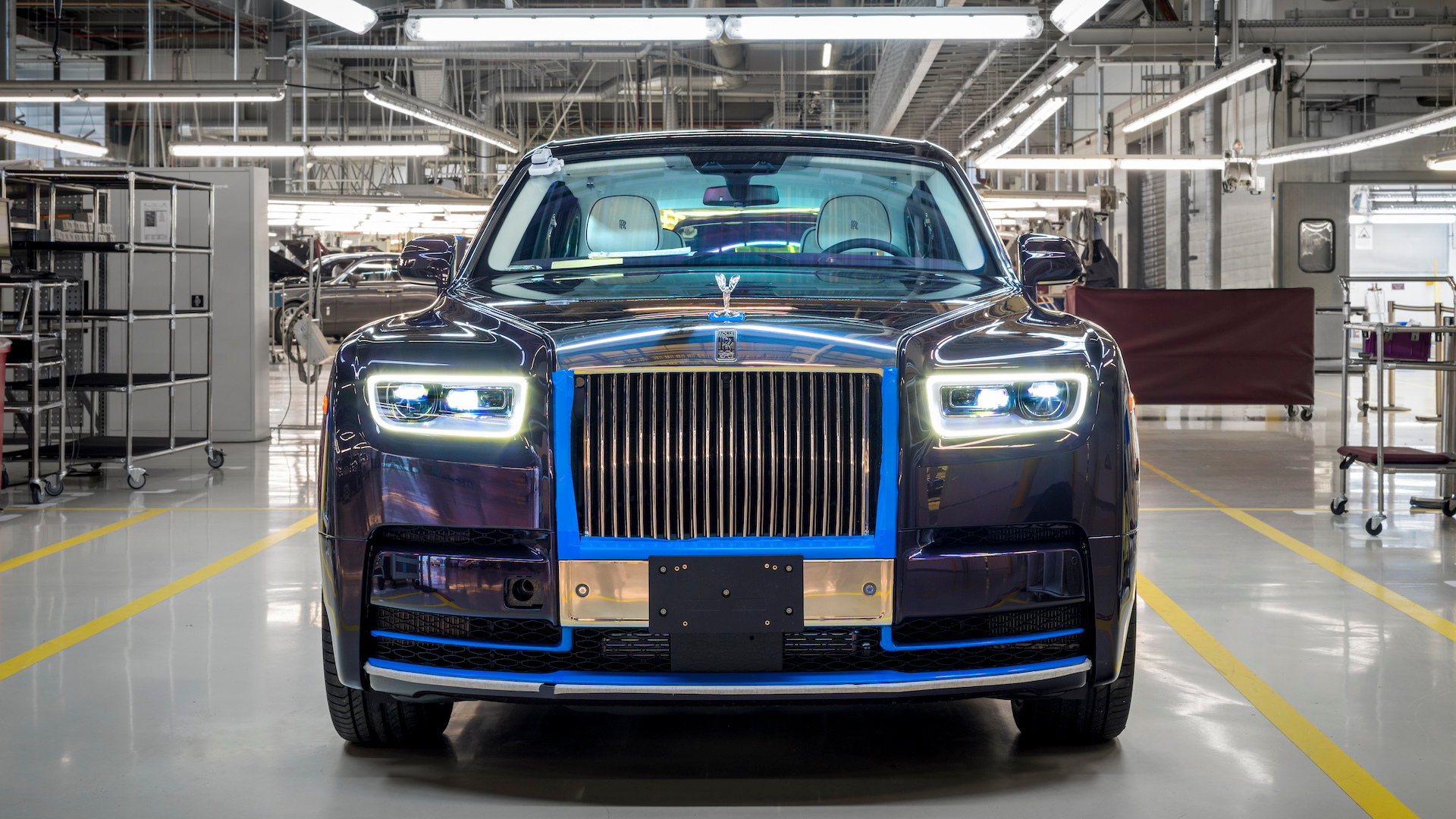 First 2018 Rolls-Royce Phantom heading to auction