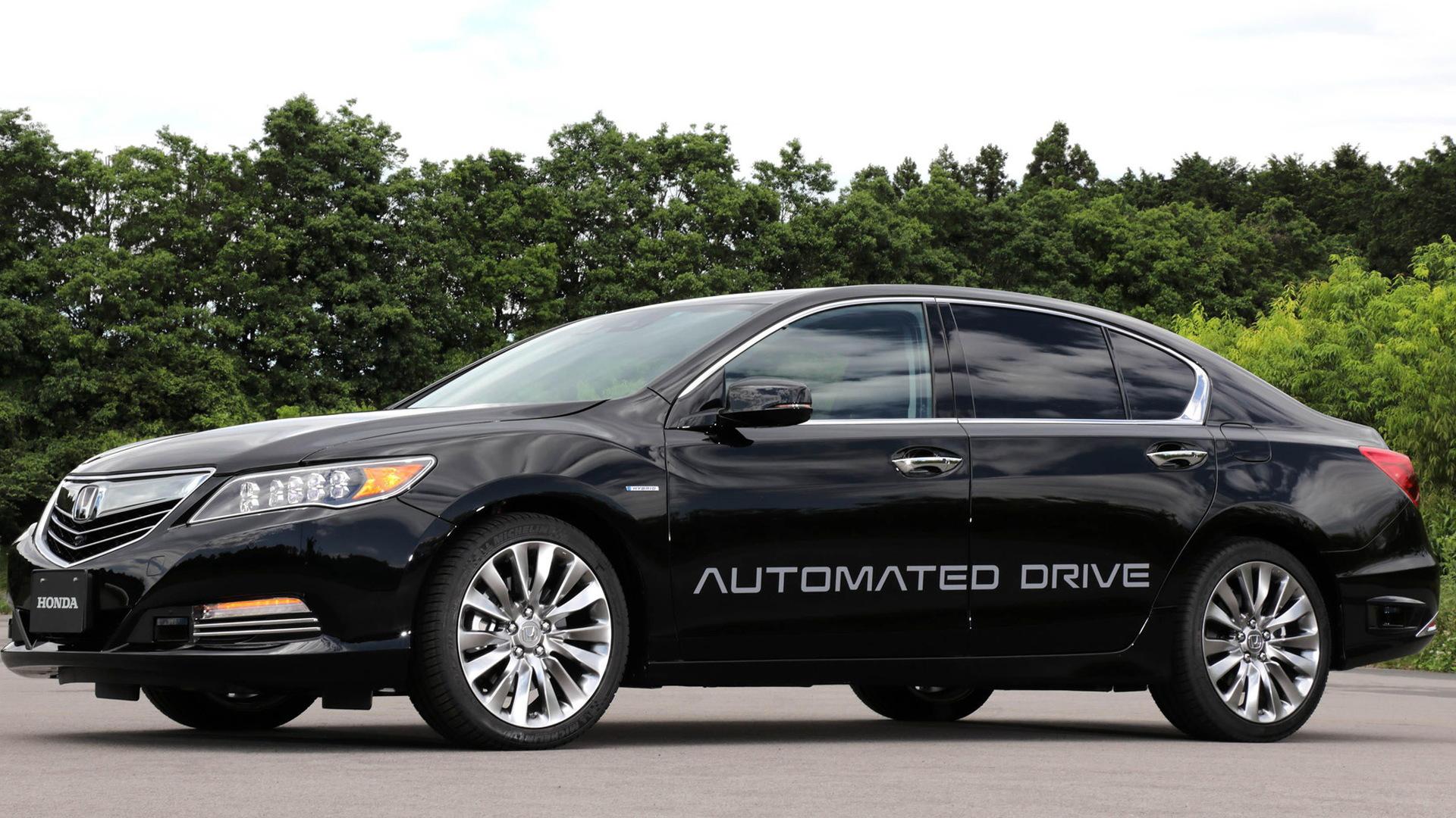 Honda self-driving car prototype