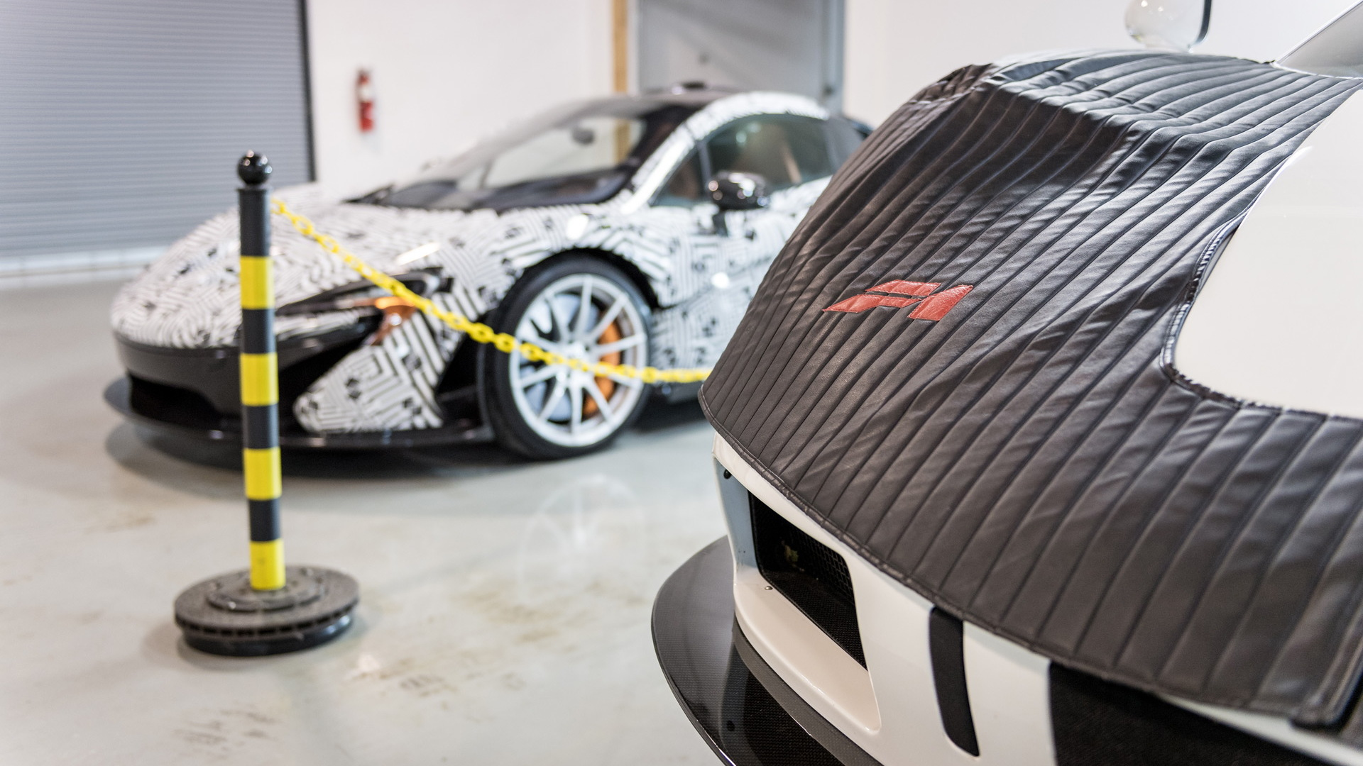 North American McLaren F1 Service Center in Pennsylvania