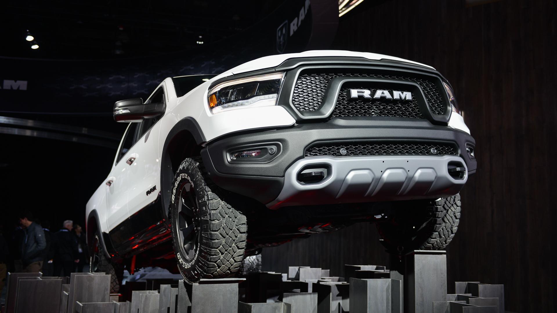 2019 Ram 1500, 2018 Detroit auto show