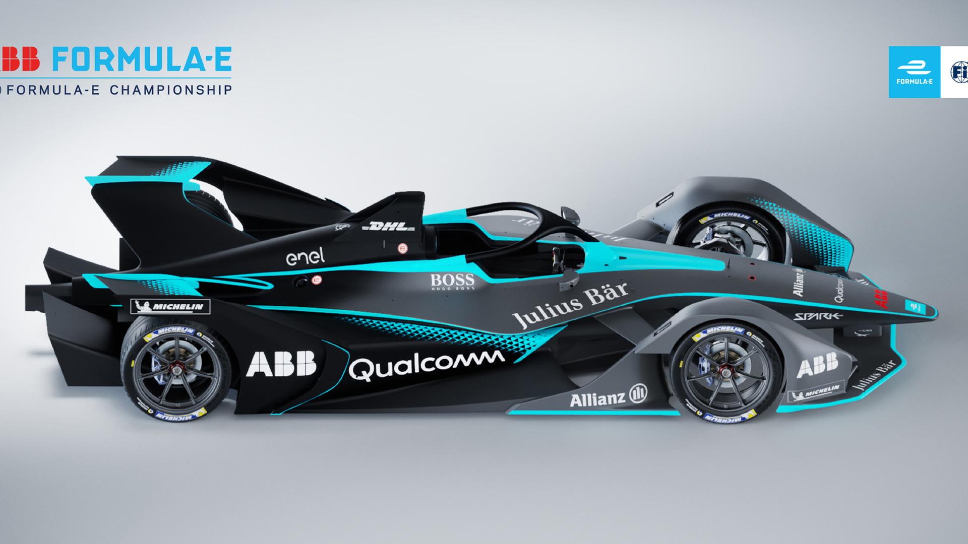 Formula E Gen2 race car