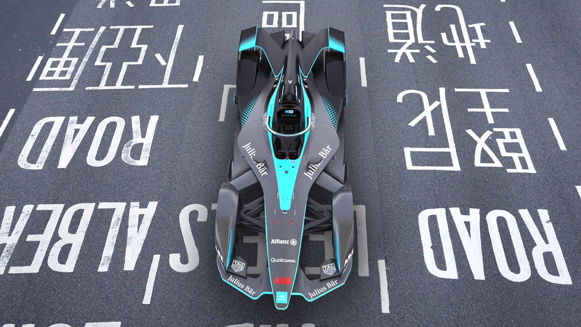 Formula E Gen2 race car