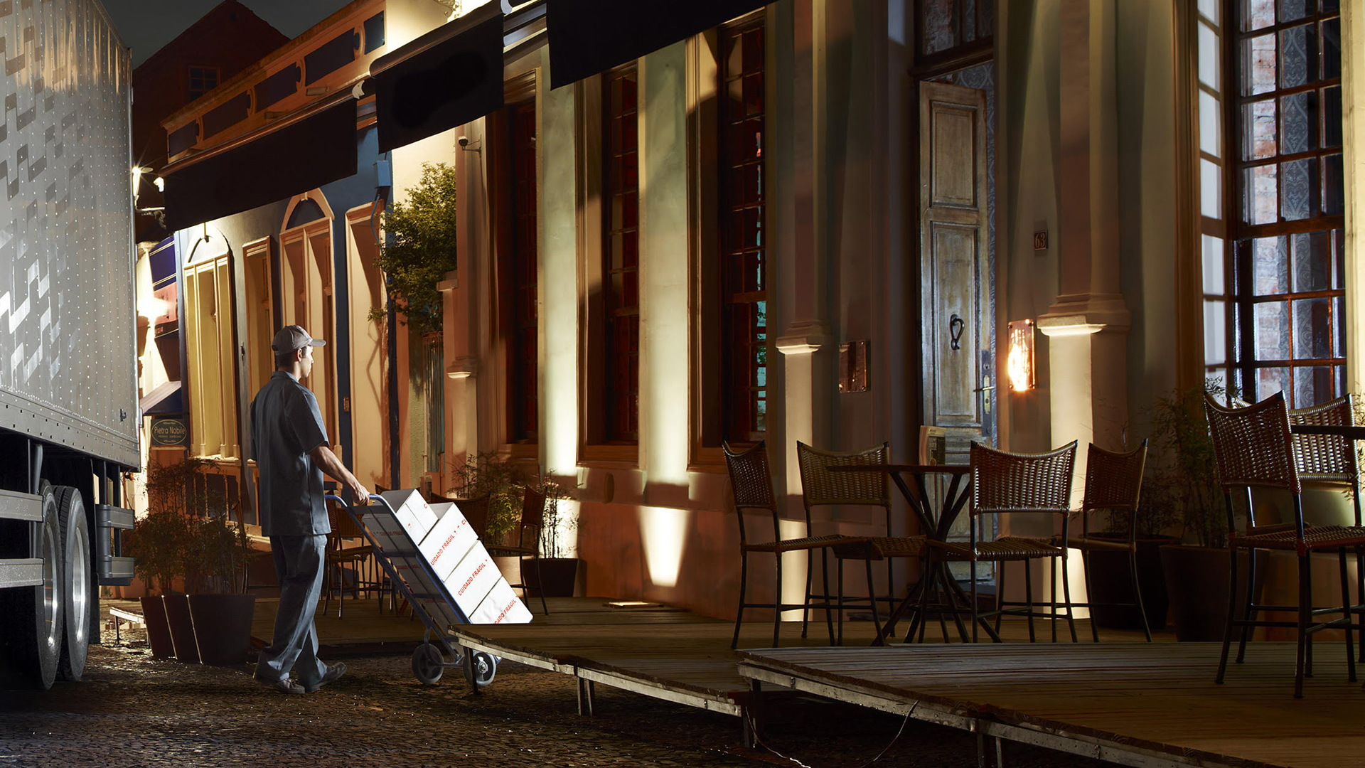 Teaser for Volvo Trucks electric urban delivery vehicle