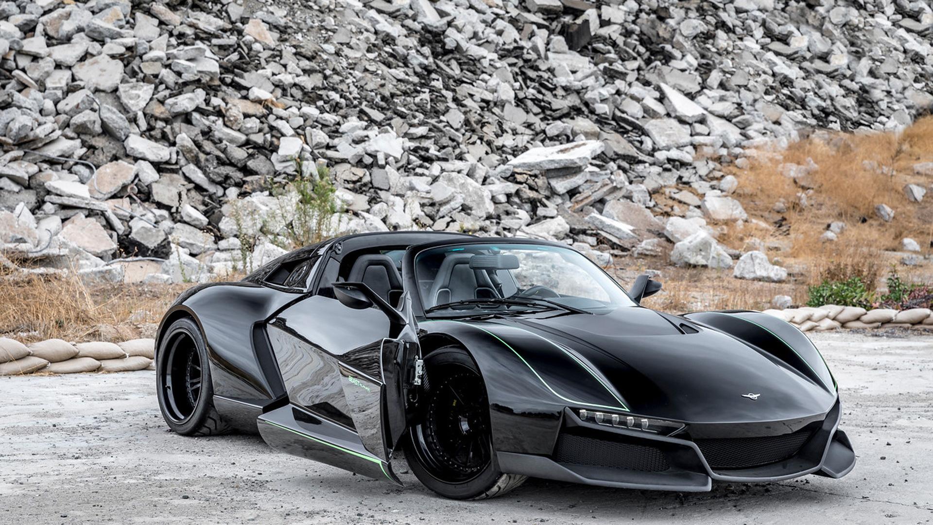 2018 Rezvani Beast Alpha X Blackbird
