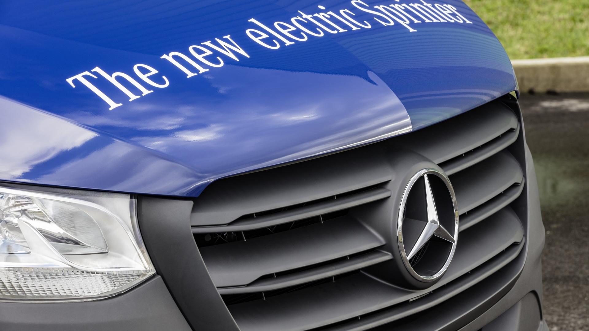 2019 Mercedes-Benz Sprinter e-Sprinter electric version (European model)