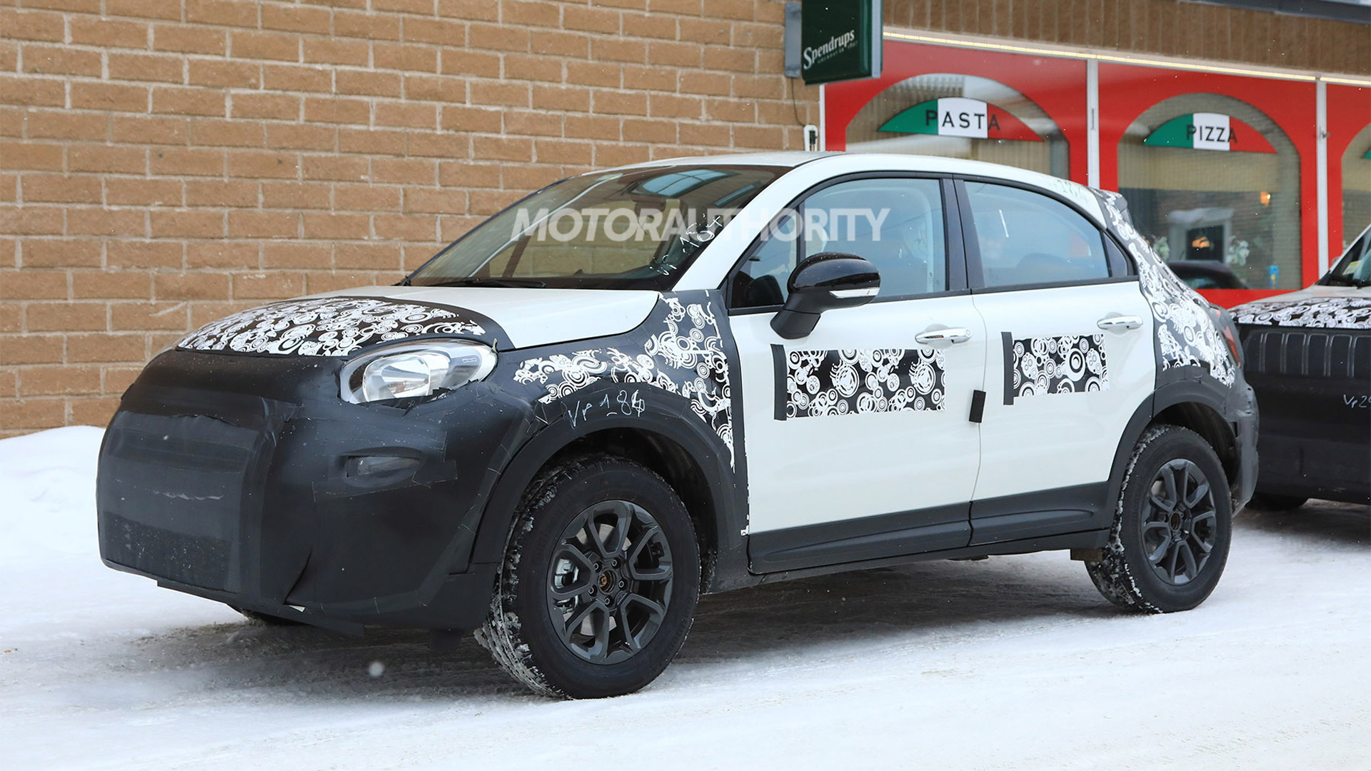2019 Fiat 500x Spy Shots