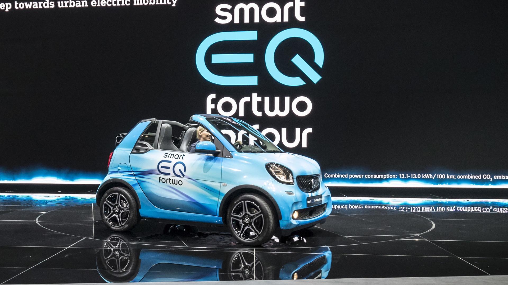 2018 Smart EQ ForTwo Cabrio