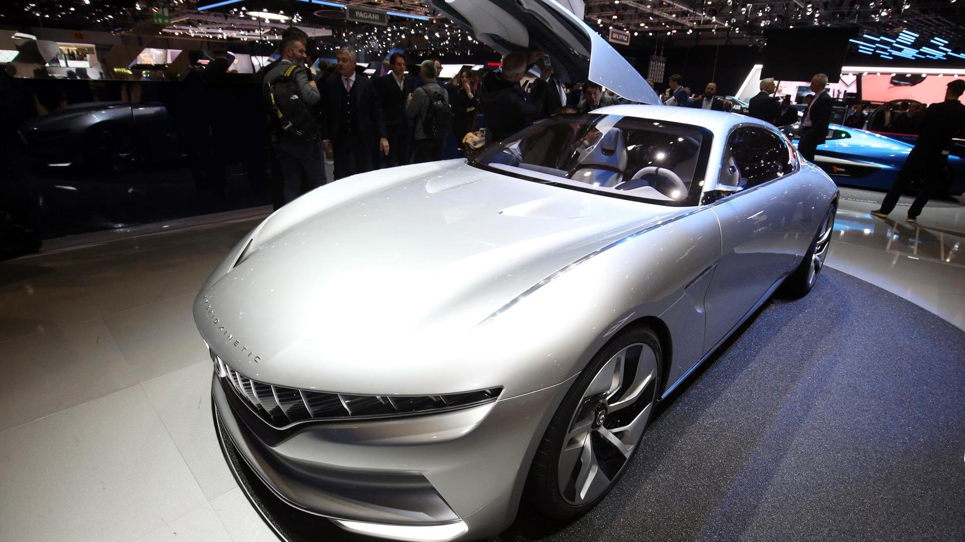 Hybrid Kinetic HK GT concept