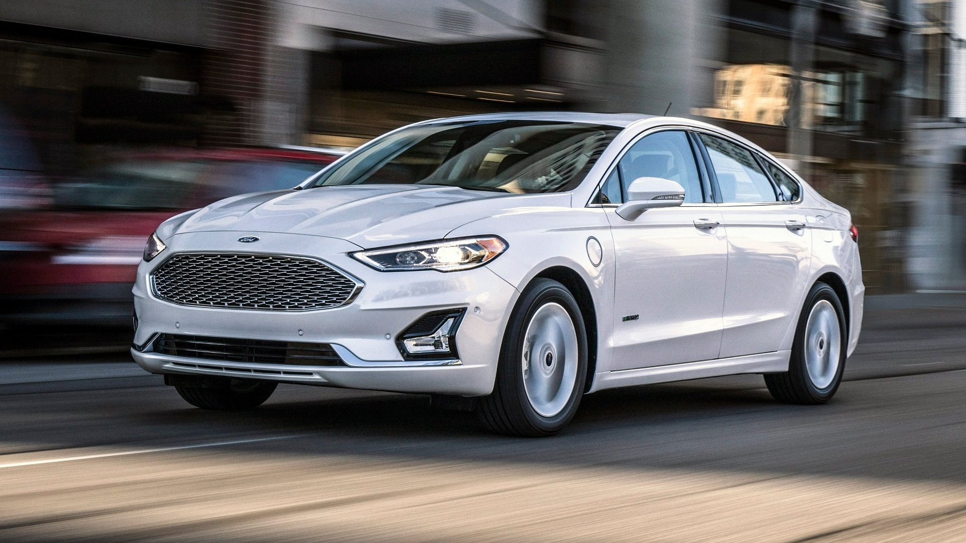 2020 Ford Fusion Energi Range