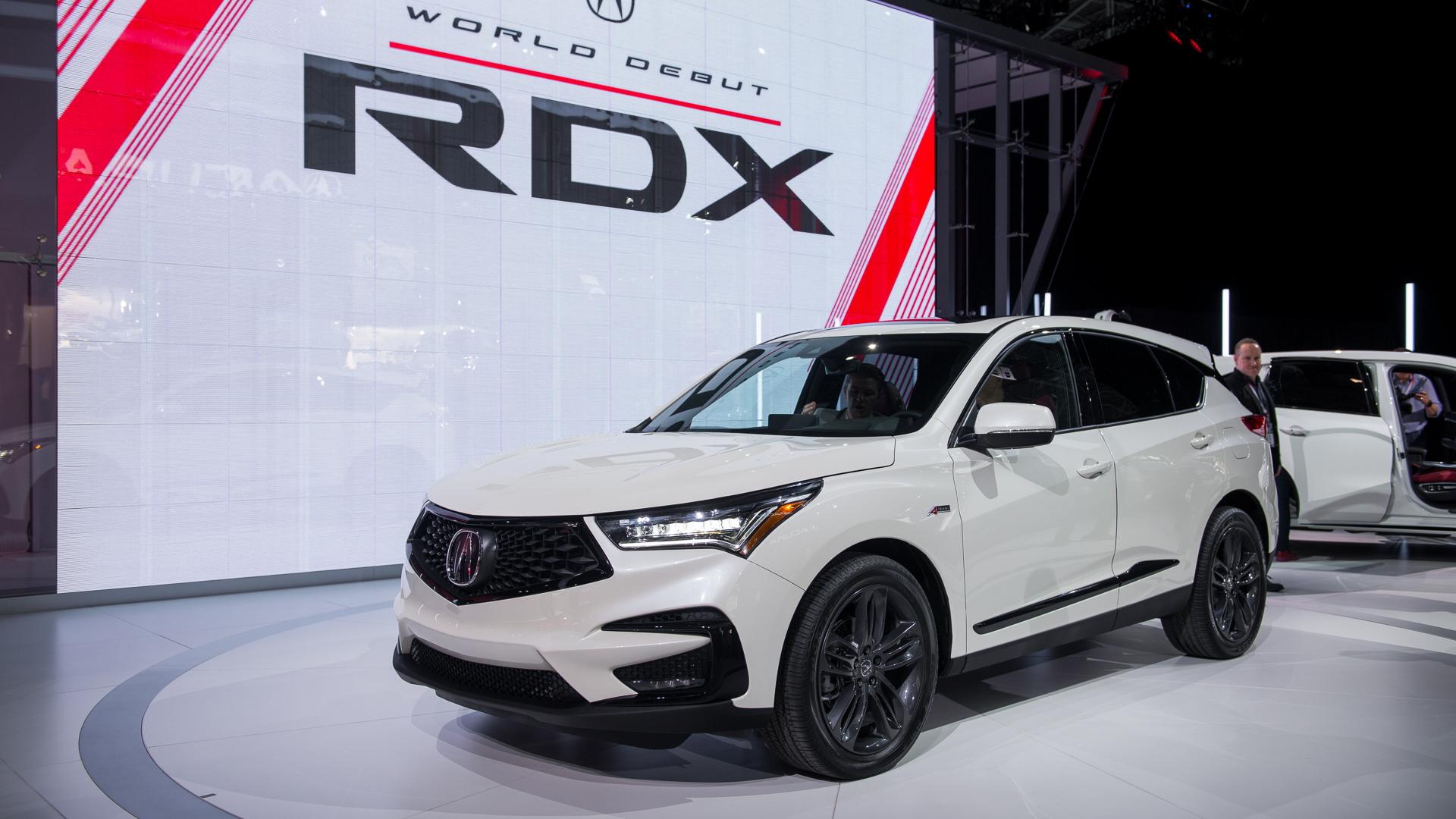 2019 Acura RDX, 2018 New York auto show