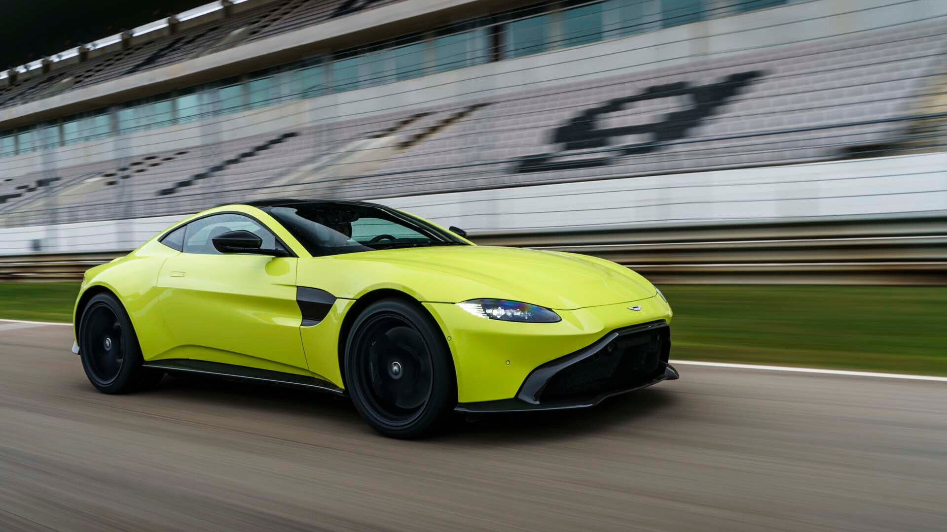 2019 Aston Martin Vantage first drive review: Tilting at