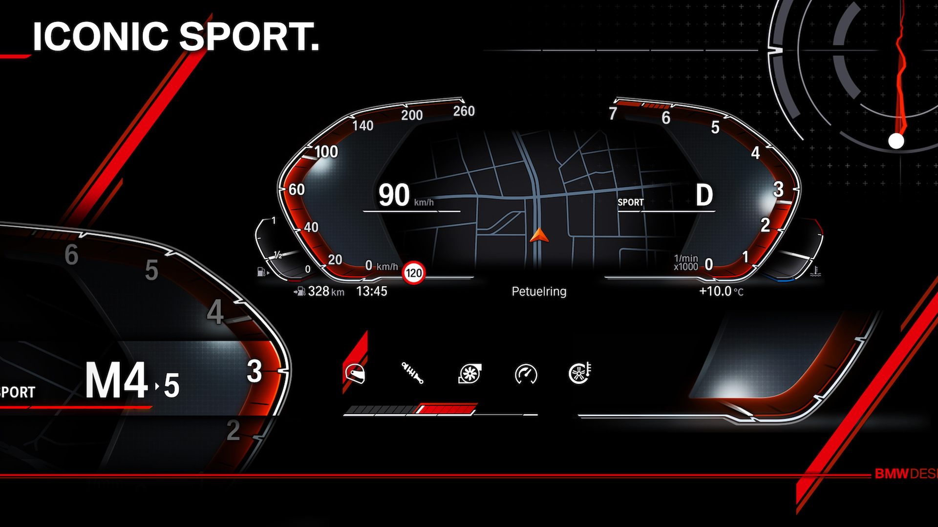 Bmw Shows Off Next Generation Digital Instrument Cluster