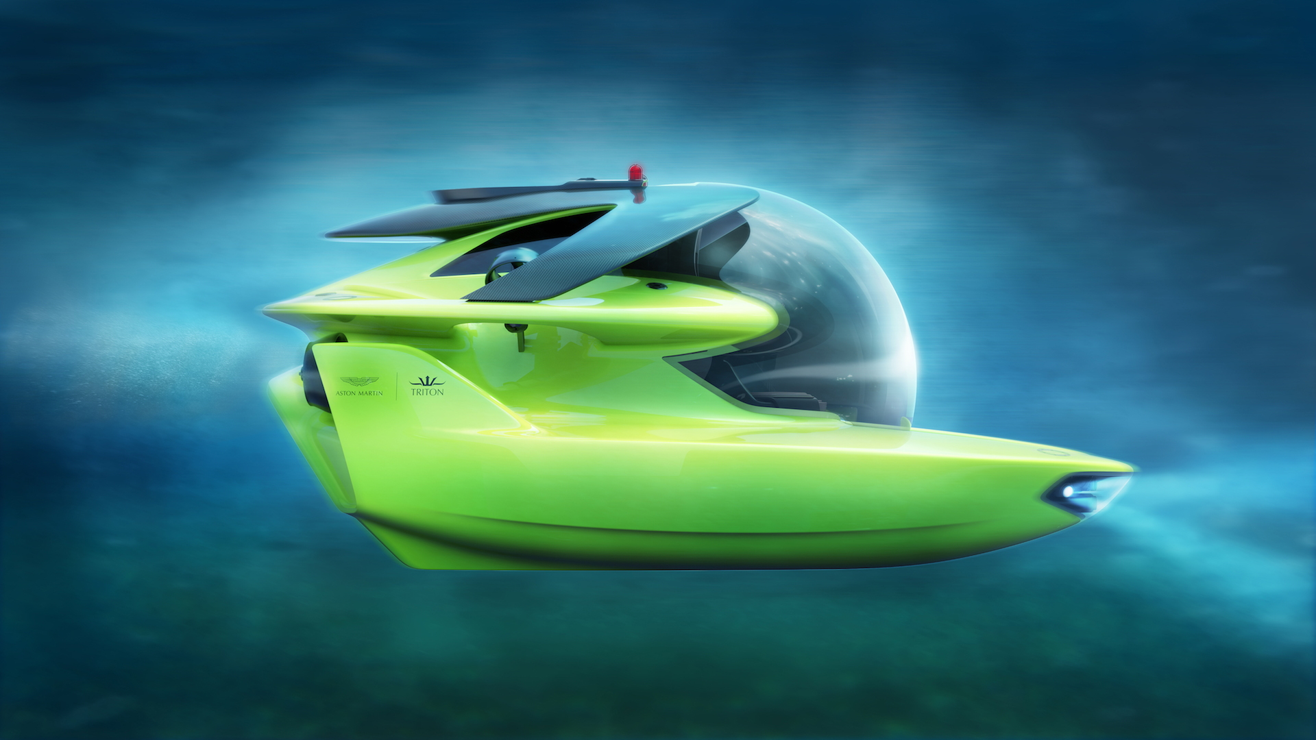Aston Martin and Triton's Project Neptune submersible