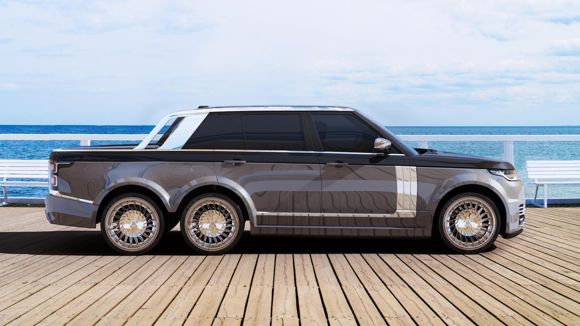 T.Fotiadis Design SLT Range Rover 6x6