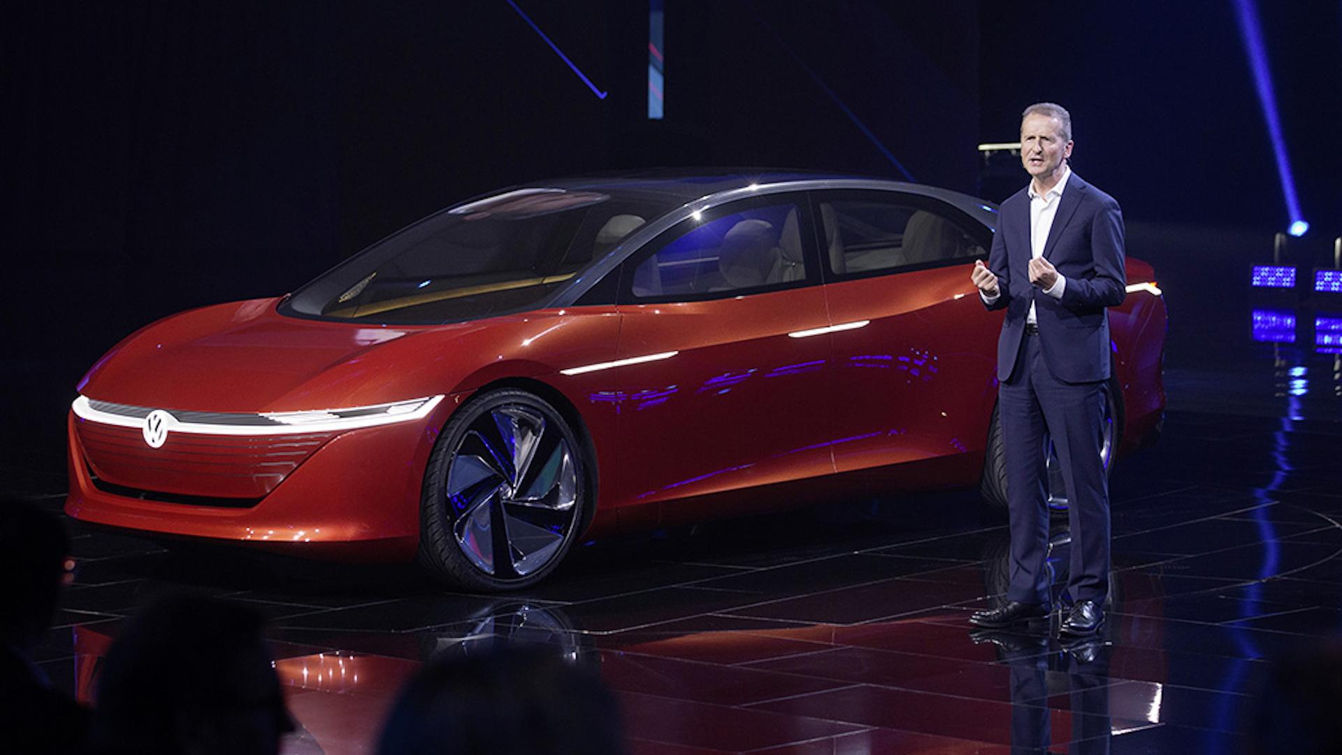 Volkswagen Group CEO Herbert Diess