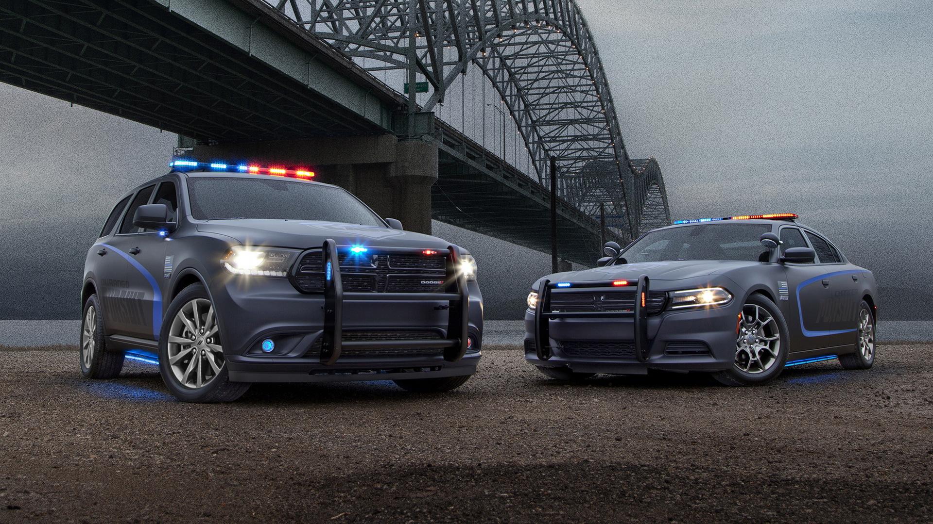 2018 Dodge Durango Pursuit and Charger Pursuit police cars