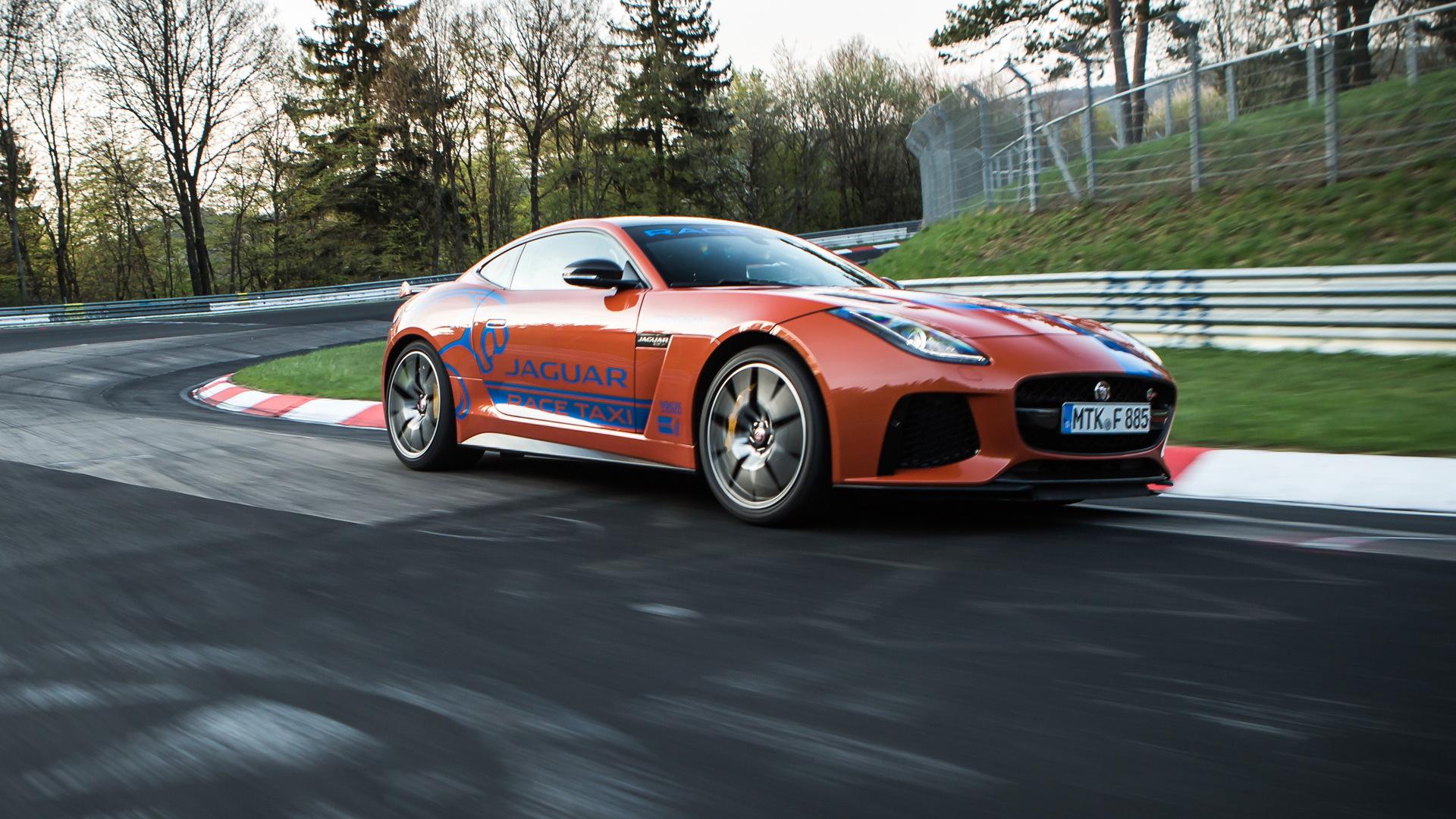 2018 Jaguar F-Type SVR Nürburgring Race Taxi