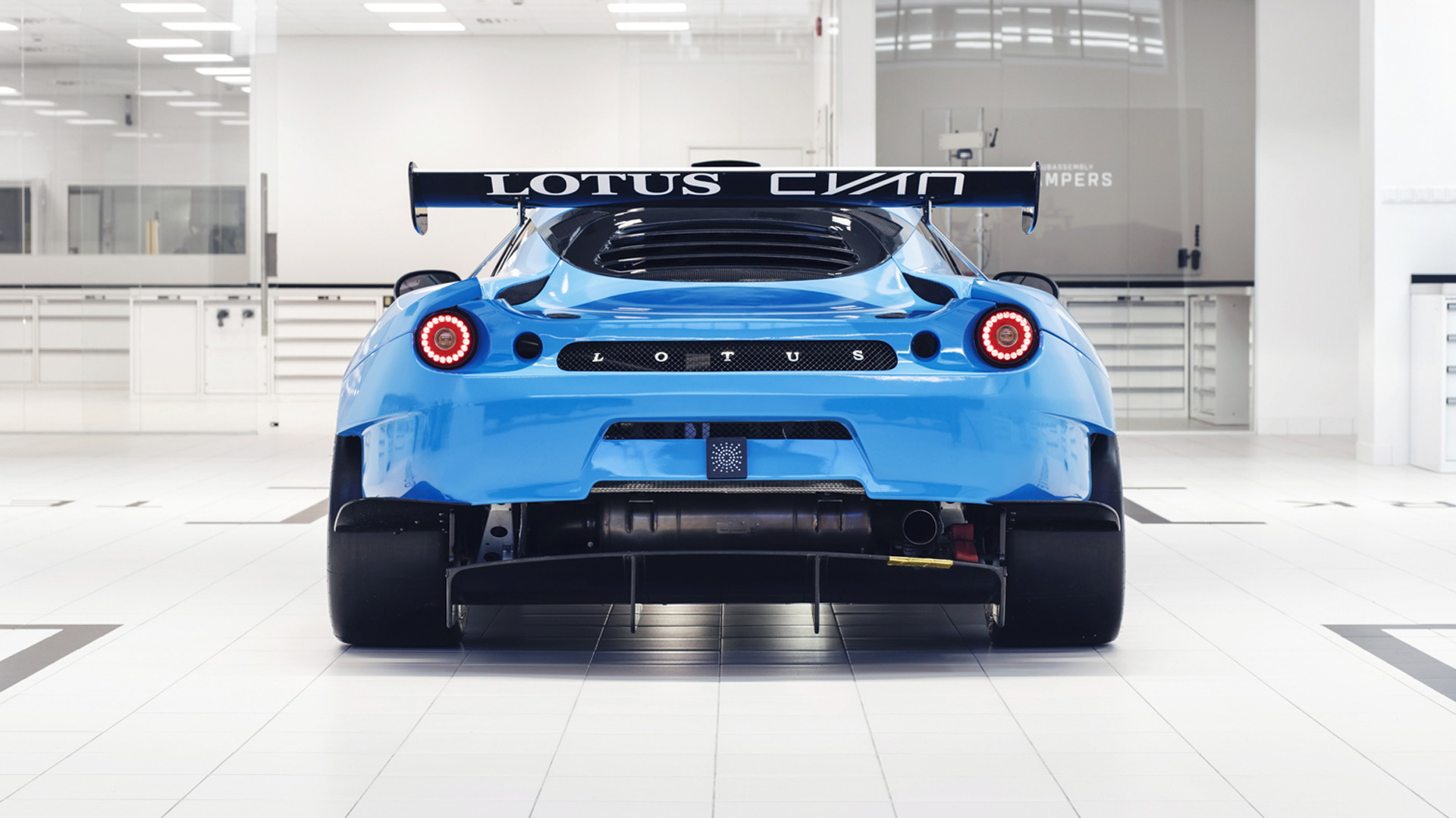 2018 Lotus Cyan Racing Evora GT4 race car