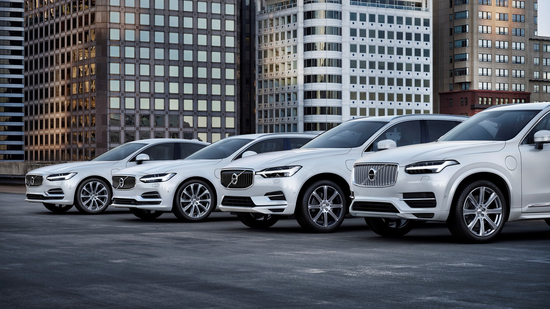 2018 Volvo S90, V90, XC60 and XC90 T8 Twin Engine