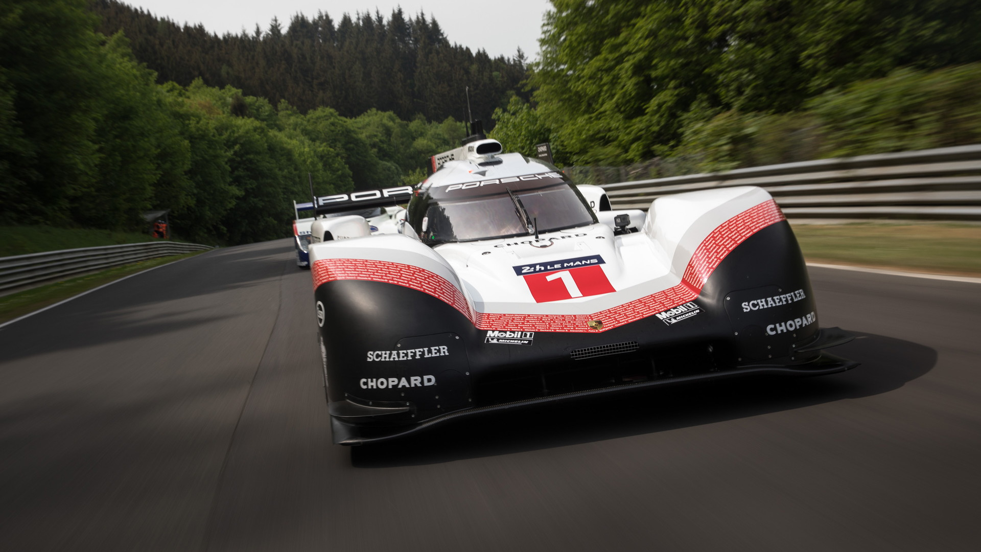 Porsche 919 Evo at the Nürburgring