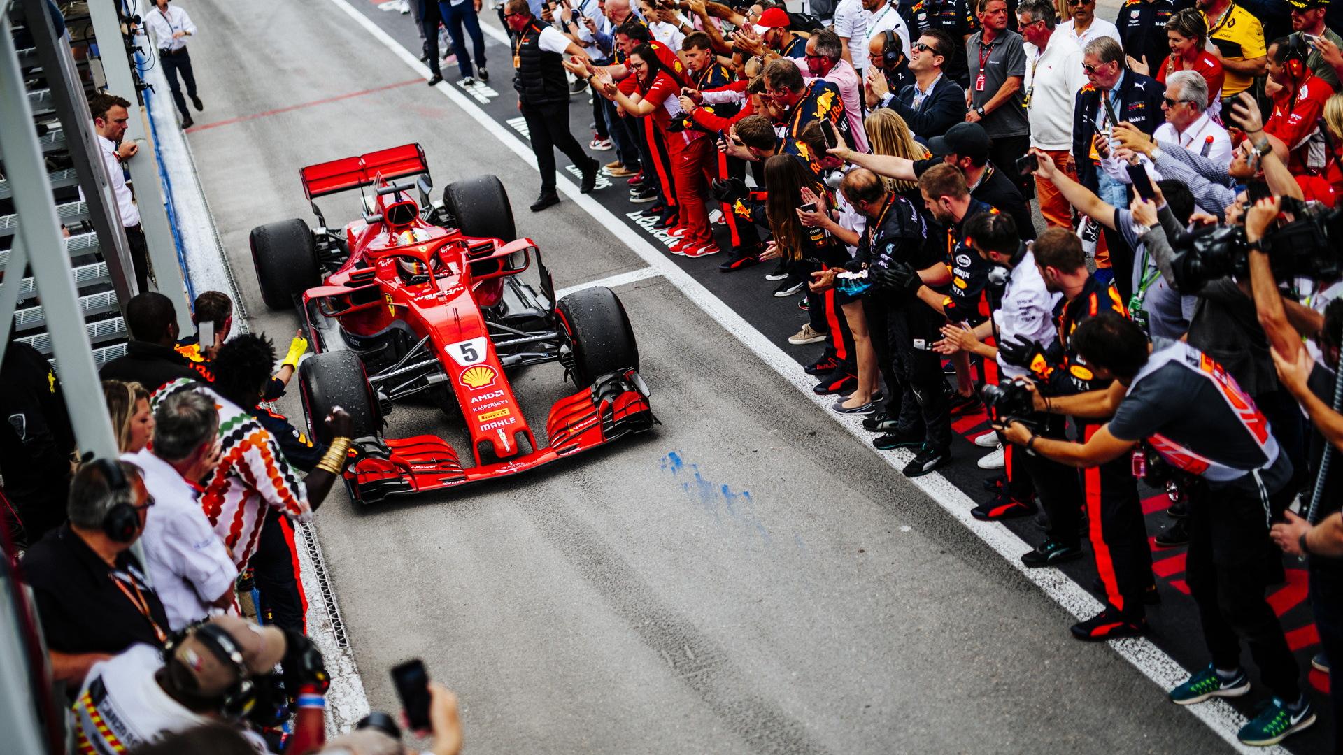 Ferrari at the 2018 Formula 1 Canadian Grand Prix