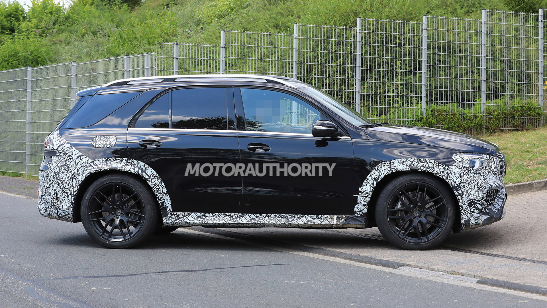 2021 Mercedes-AMG GLE63 spy shots - Photo credit: S. Baldauf/SB-Medien