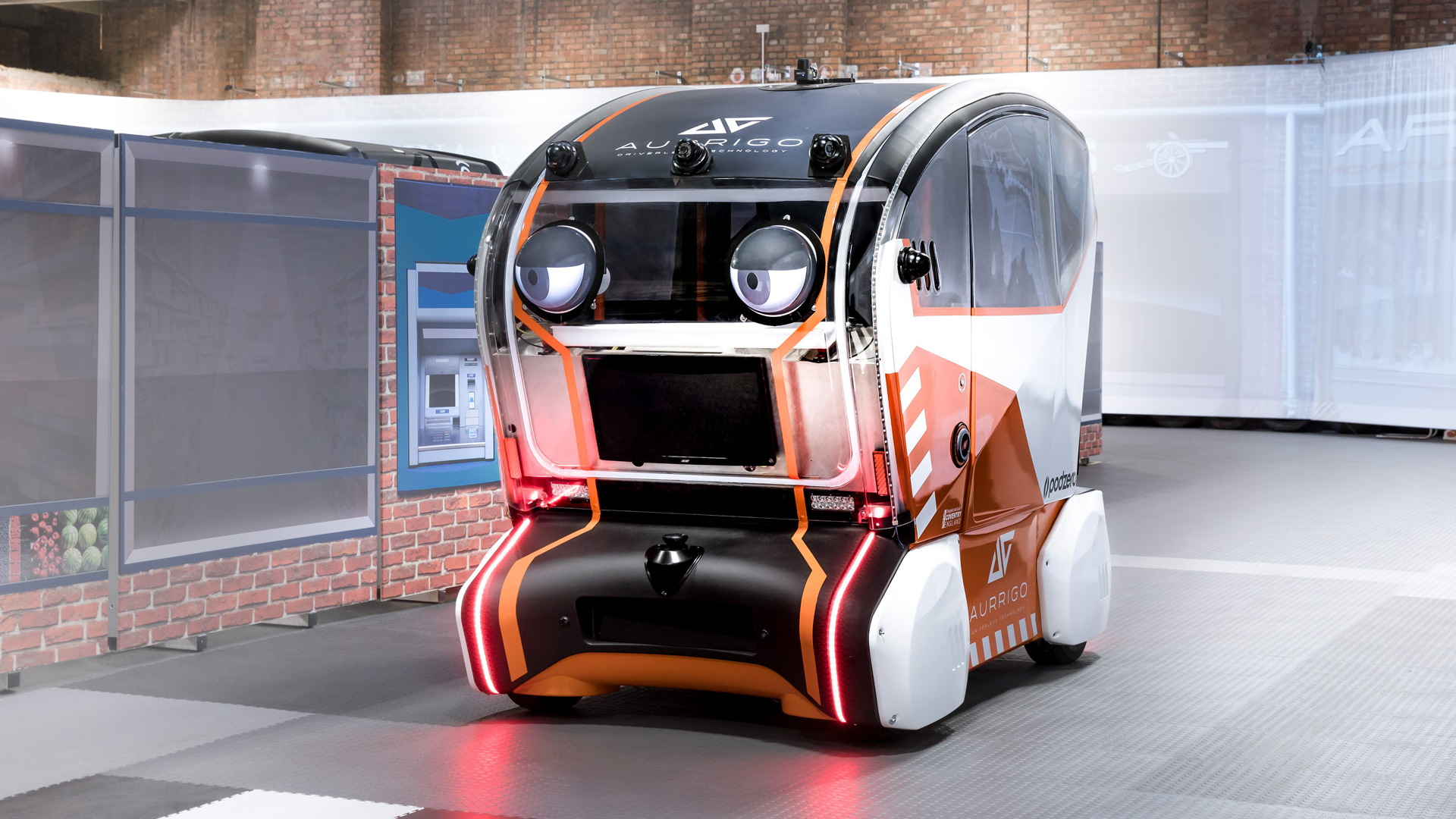 """Self-driving prototype with """"virtual eyes"""" technology"""