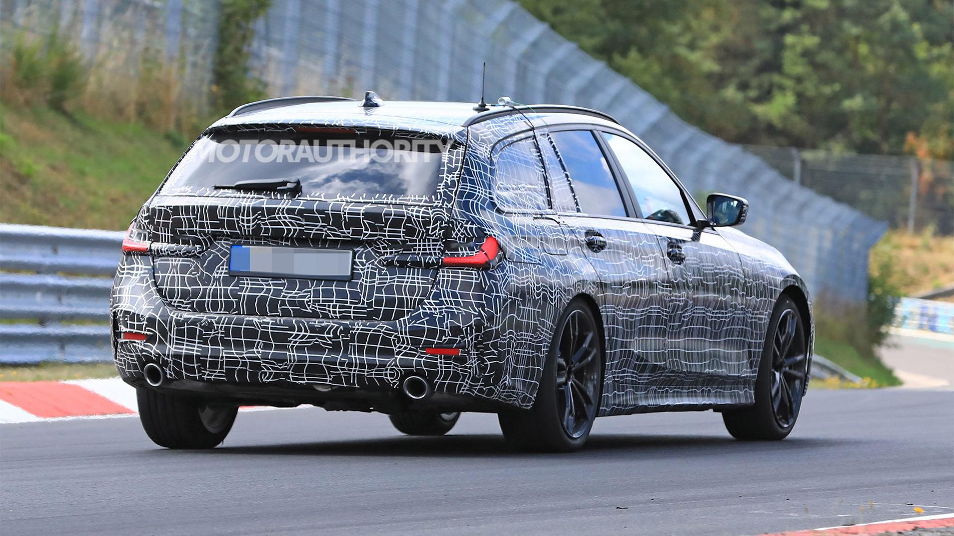 2020 BMW 3-Series Sports Wagon spy shots - Image via S. Baldauf/SB-Medien